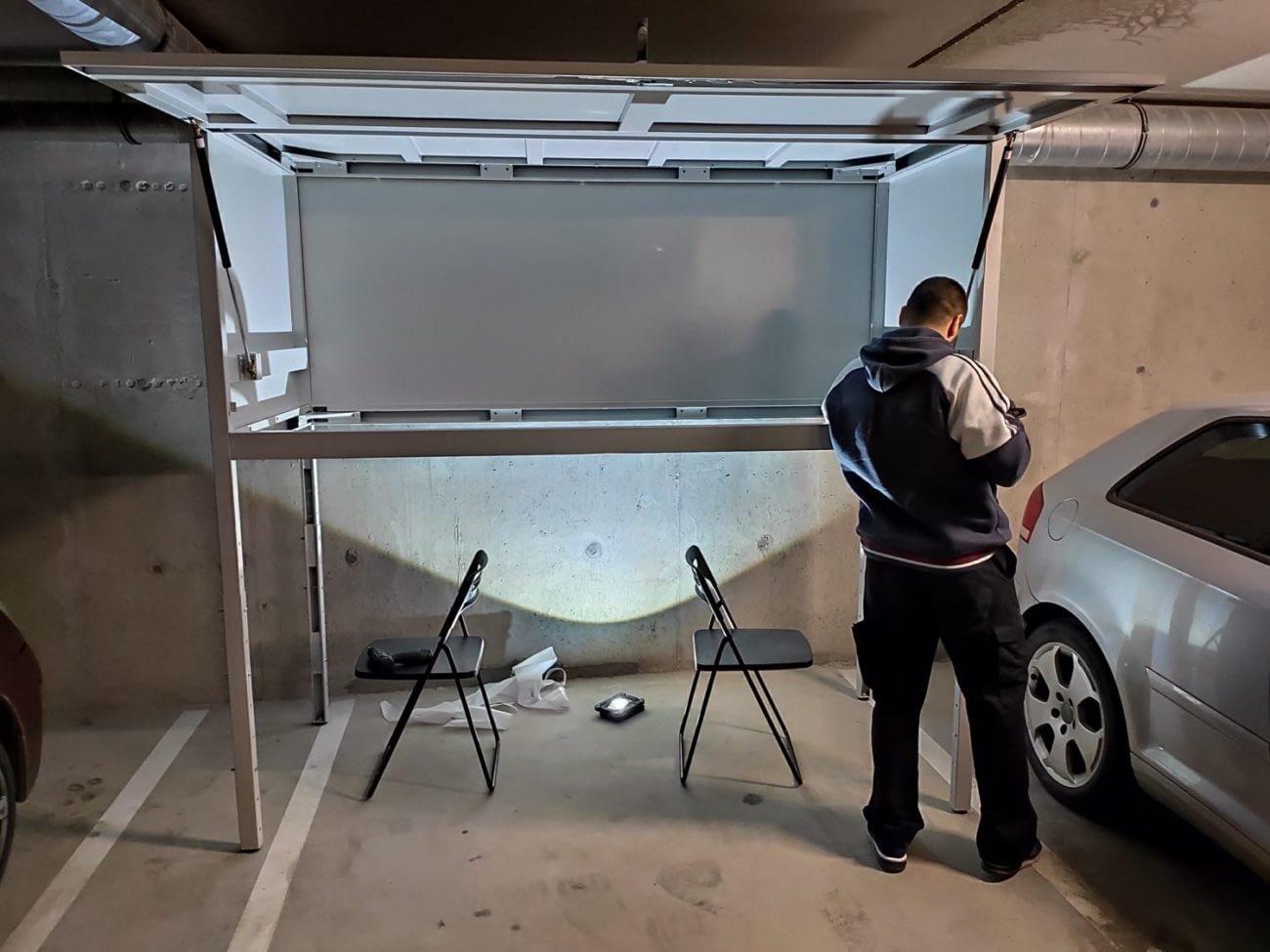 szafa garażowa na Jagodnie