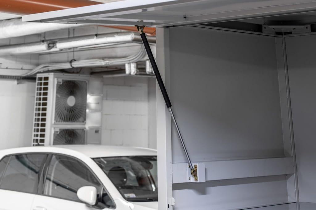 podnośnik gazowy szafy garażowej